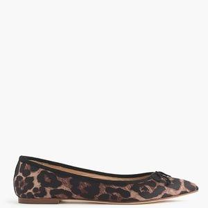 NEW Gemma Leopard Flats 7.5 7 1/2